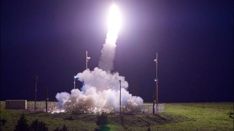 Na zdjęciu inna rakieta wystrzelona z tego samego stanowiska /materiały prasowe