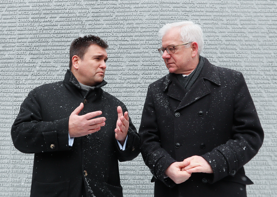 Na zdjęciu Jacek Czaputowicz i Paweł Klimkin /SERGEY DOLZHENKO /PAP/EPA