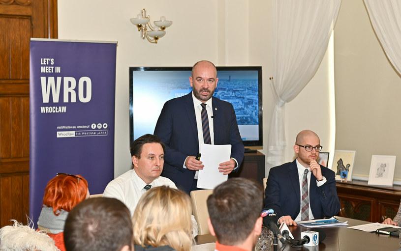 Na zdjęciu: Jacek Sutryk, Sebastian Lorenc, Adam Zawada /Slawomir Bernas /East News