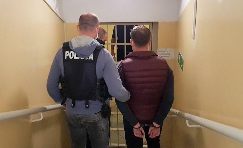 Na zdjęciu jeden z zatrzymanych /lubuska.policja.gov.pl /