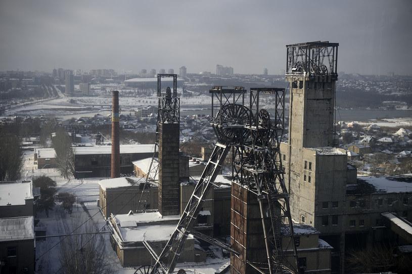 Na zdjęciu: Jedna z kopalni w Doniecku /ERIC FEFERBERG /AFP