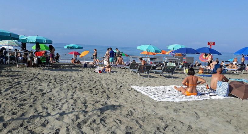 Na zdjęciu: Jedna z włoskich plaż /TELENEWS    /PAP/EPA
