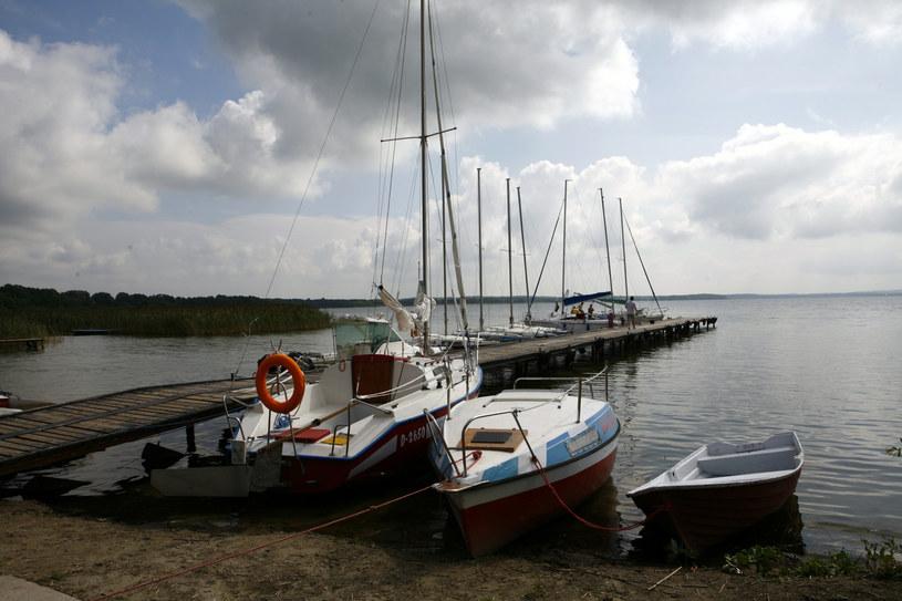 Na zdjęciu: Jezioro Dargin /Rafał Jabłoński  /East News