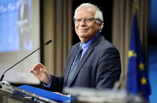 Na zdjęciu Josep Borrell /OLIVIER MATTHYS    /PAP/EPA