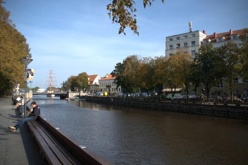 Na zdjęciu kanał i port w Kłajpedzie /Albin Marciniak /East News