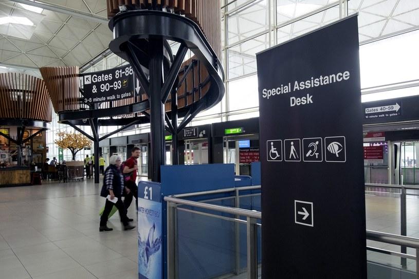 Na zdjęciu: Lotnisko Stansted /Marek Michalak /East News