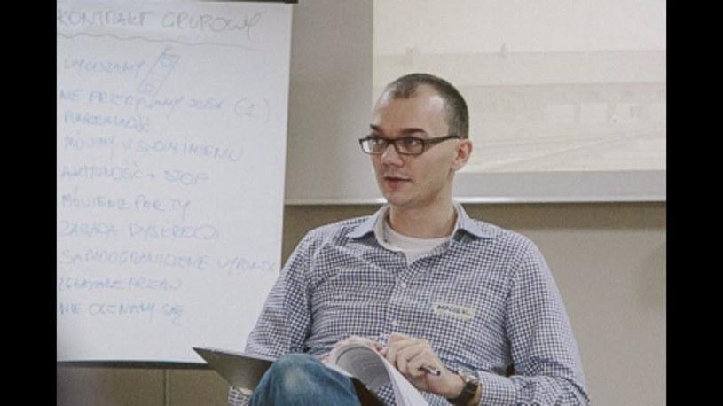 Na zdjęciu Maciek Zabierowski, fot. Andrzej Rudiak (Centrum Żydowskie w Oświęcimiu) /&nbsp