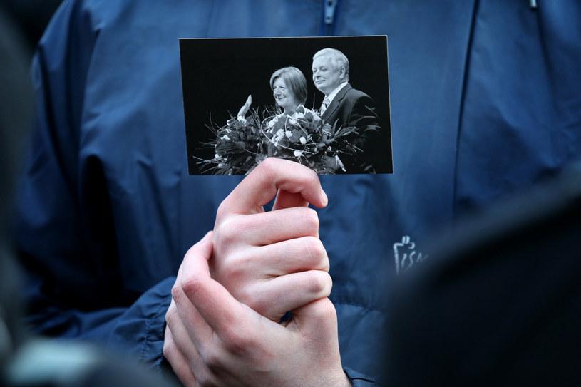Na zdjęciu Maria i Lech Kaczyńscy /Damian Klamka /East News
