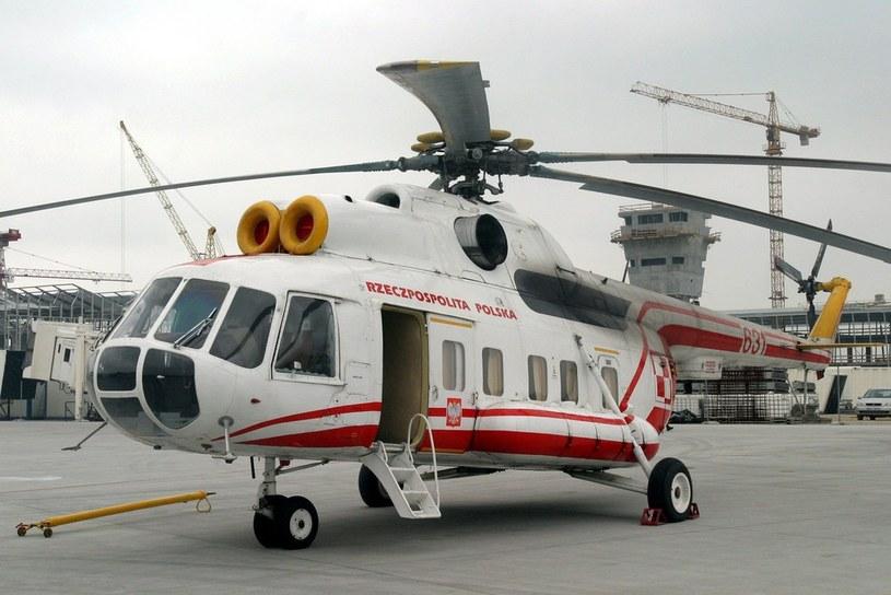 Na zdjęciu Mi-8, którym latał Ojciec Święty, w 2005 roku /East News /East News