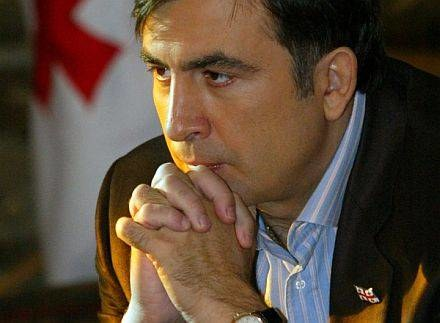 Na zdjęciu Micheil Saakaszwili /AFP