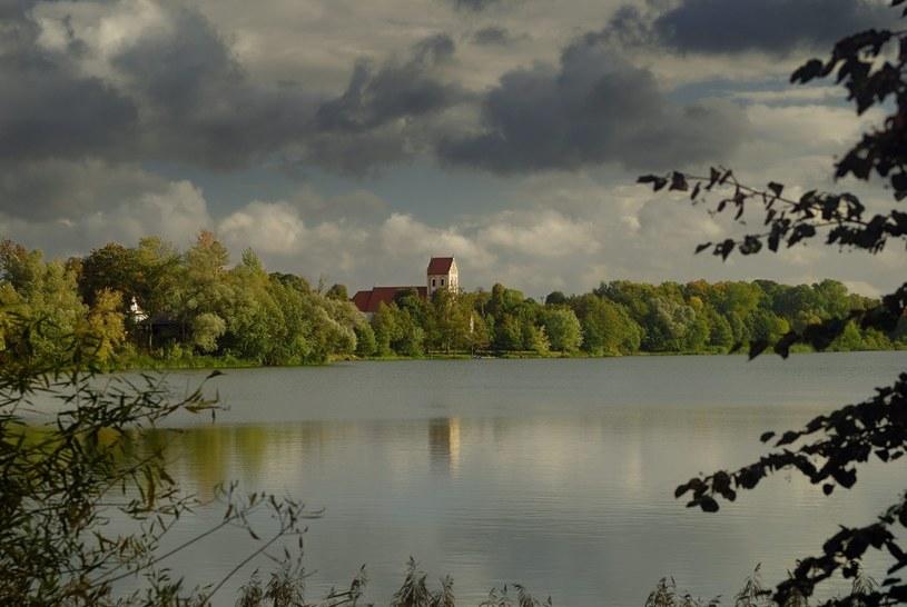 Na zdjęciu Miłki nad Jeziorem Miłkowskim /Piotr Płaczkowski /Reporter