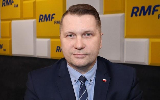 Na zdjęciu minister Przemysław Czarnek /Piotr Szydłowski /Archiwum RMF FM