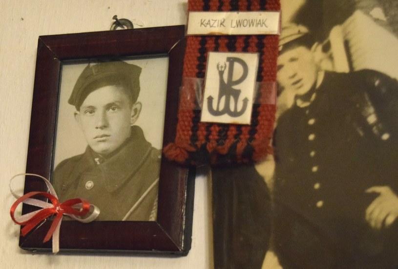 Na zdjęciu nastoletni Jacek Wilczur, żołnierz AK /Ewelina Karpińka-Morek /INTERIA.PL