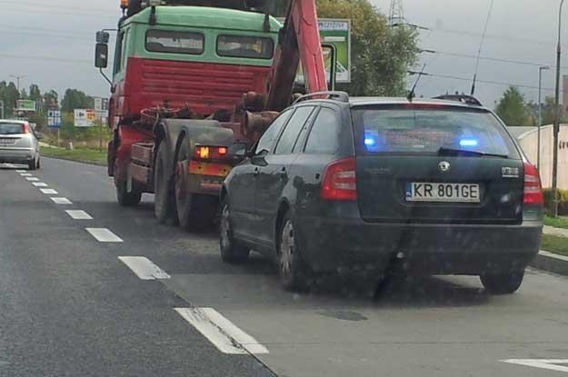 Na zdjęciu nieoznakowany radiowóz ITD /INTERIA.PL