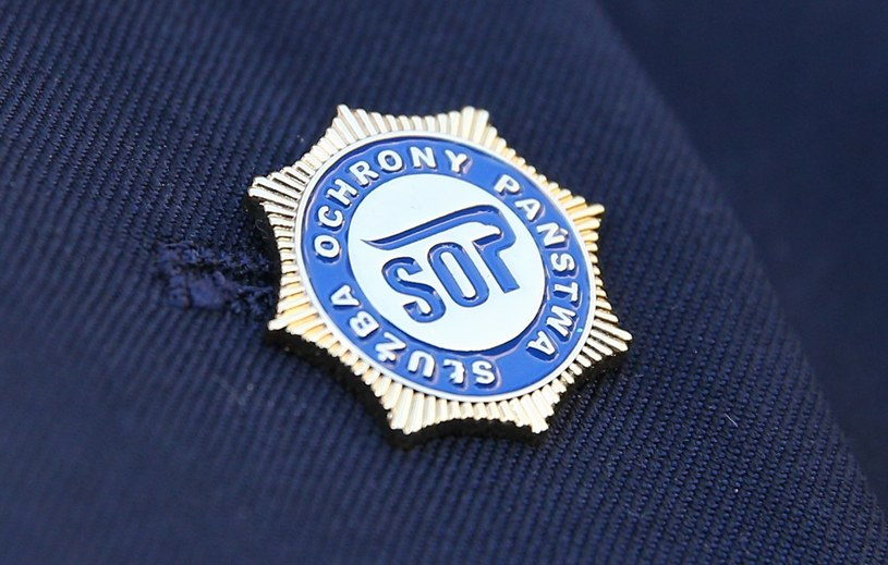 Na zdjęciu: Odznaka Służby Ochrony Państwa /Damian Klamka /East News