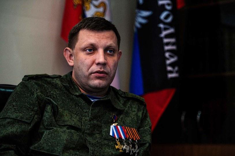 Na zdjęciu Ołeksandr Zacharczenko /AFP