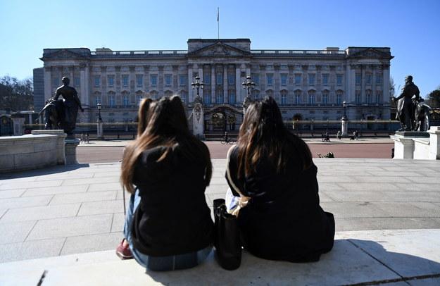 Na zdjęciu Pałac Buckingham / ANDY RAIN    /PAP/EPA