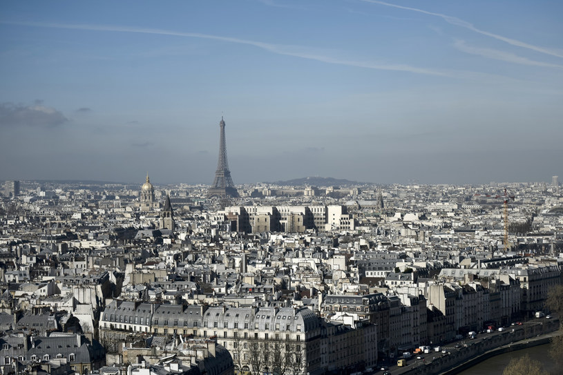 Na zdjęciu: Paryż /Philippe Lopez  /AFP