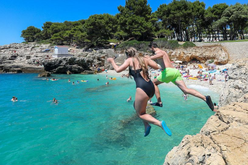 Na zdjęciu: plaża w Chorwacji /Srecko Niketic/PIXSELL/Press Association /East News