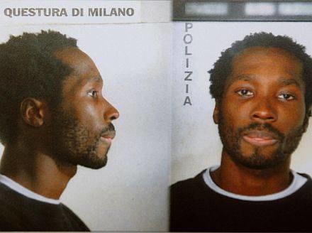 Na zdjęciu podejrzany o gwałt i zabójstwo Rudy Hermann Guede /AFP