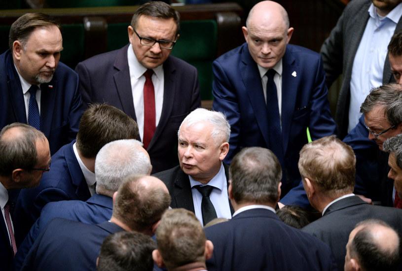 Na zdjęciu politycy PiS /Jan Bielecki /East News