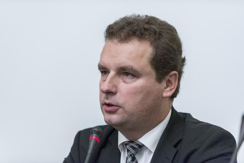 Na zdjęciu poseł Jacek Wilk /JAKUB WOSIK/REPORTER /Reporter