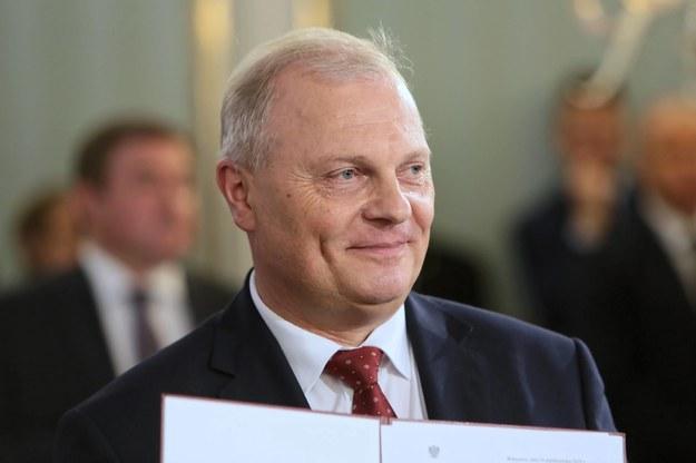 Na zdjęciu poseł Lech Kołakowski / Leszek Szymański    /PAP