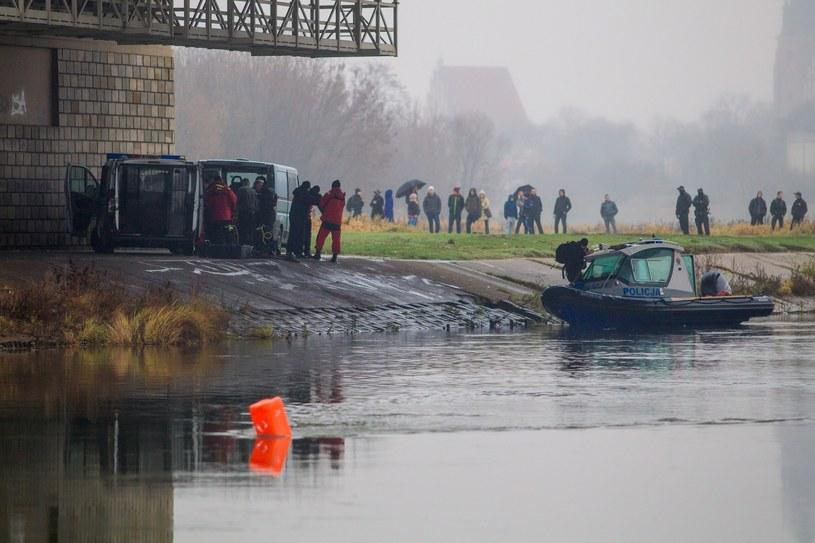 Na zdjęciu: Poszukiwania ciała Ewy Tylman /Jakub Walasek /Reporter