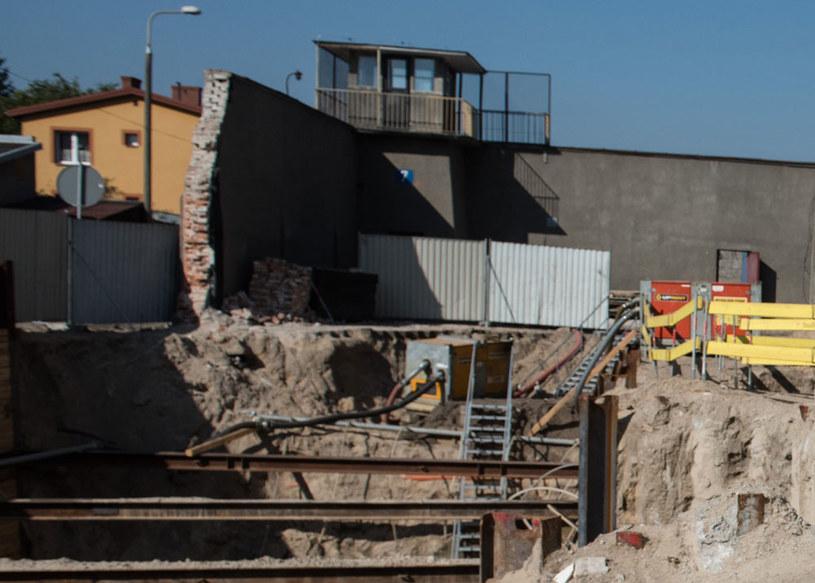 Na zdjęciu: Prace związane z przebudową i rozbudową dawnego aresztu w Ostrołęce dla celów Muzeum Żołnierzy Wyklętych /Filip Błażejowski/Gazeta Polska /Agencja FORUM
