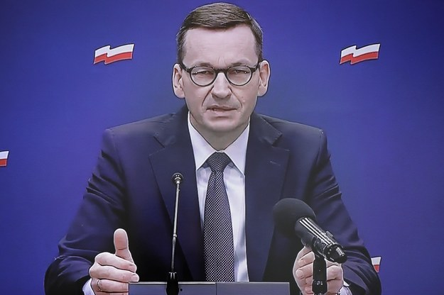 Na zdjęciu premier Mateusz Morawiecki /Paweł Supernak /PAP