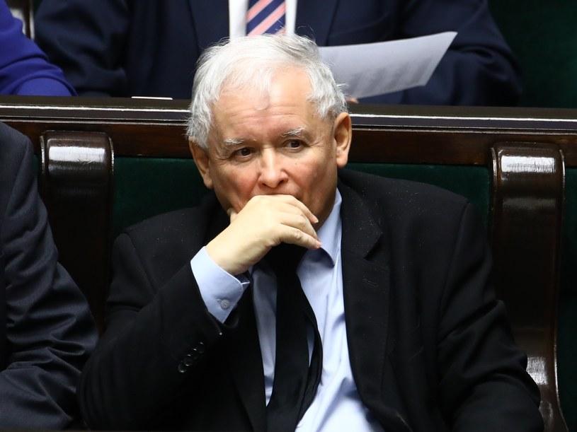Na zdjęciu prezes PiS Jarosław Kaczyński /Stanisław  Kowalczuk /East News
