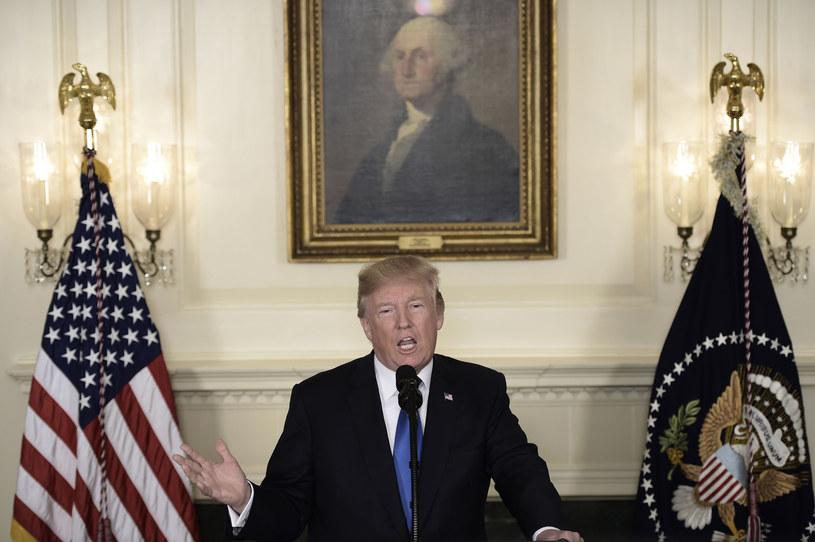 Na zdjęciu prezydent USA Donald Trump /AFP