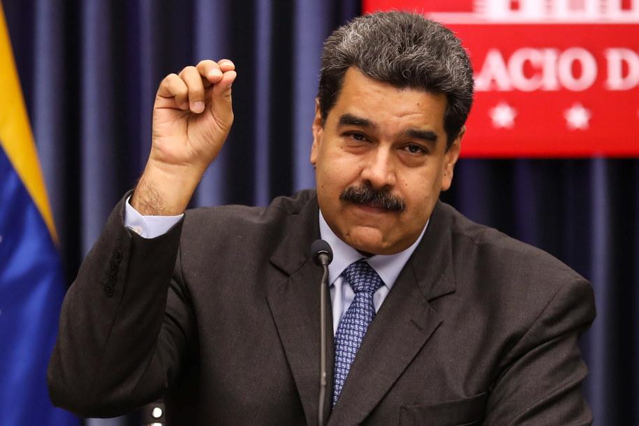 Na zdjęciu: prezydent Wenezueli /CRISTIAN HERNANDEZ /PAP/EPA