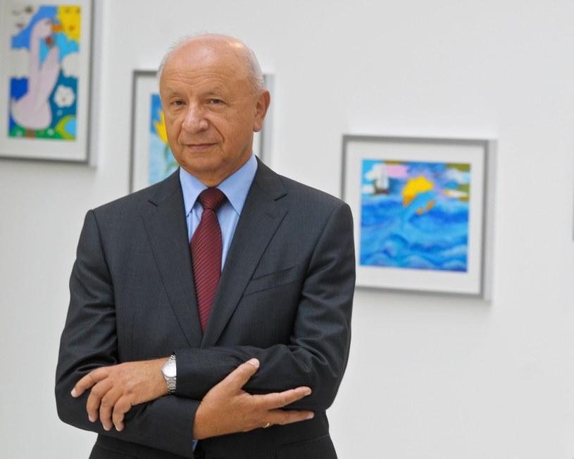 Na zdjęciu prof. Bogdan Chazan /Teodor Ryszkus /Agencja FORUM