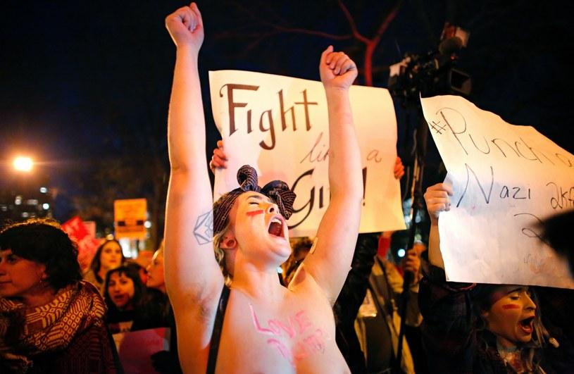 Na zdjęciu: Protest kobiet w Waszzngtonie /Kena Betancur /AFP