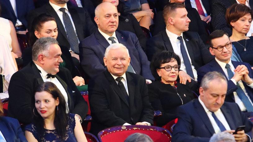 Na zdjęciu przedstawiciele PiS /Fot. Tomasz Jastrzębowski/REPORTER /East News