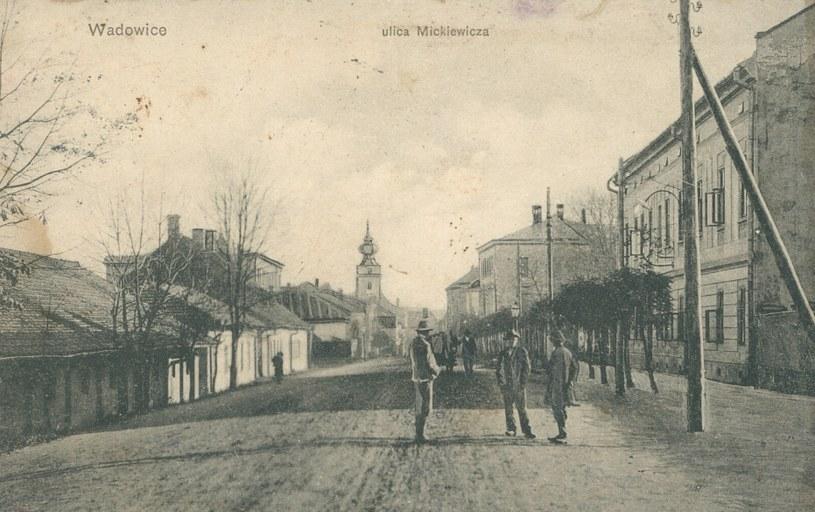 Na zdjęciu przedwojenne Wadowice /Biblioteka Narodowa /domena publiczna