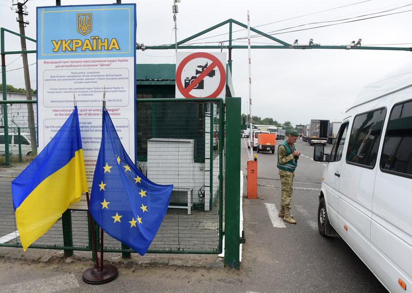 Na zdjęciu: Przejście graniczne Medyka-Szeginie /AFP