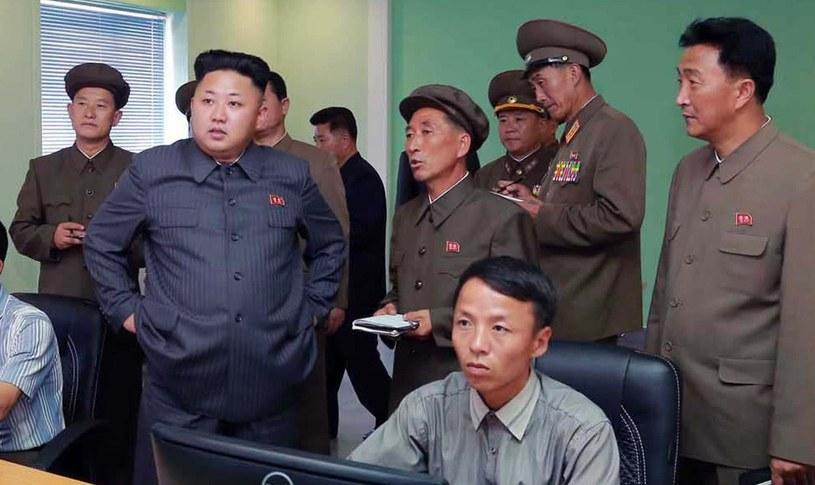 Na zdjęciu przywódca Korei Północnej Kim Dzong Un /AFP