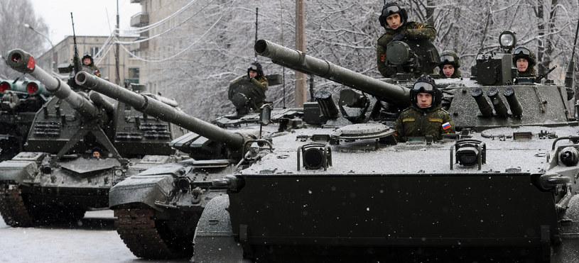 Na zdjęciu rosyjscy żołnierze /Olga Maltseva /AFP