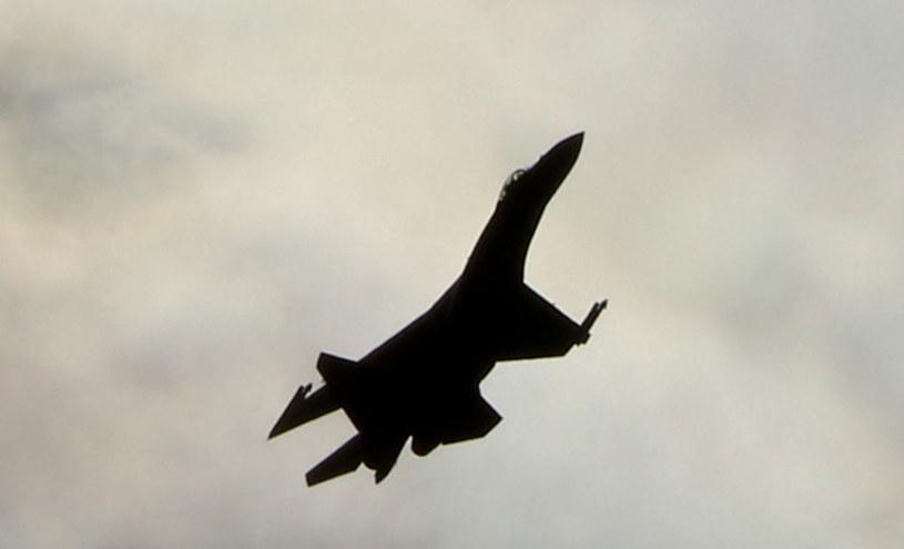 Na zdjęciu: Rosyjski myśliwiec wielozadaniowy Su-35 /AFP