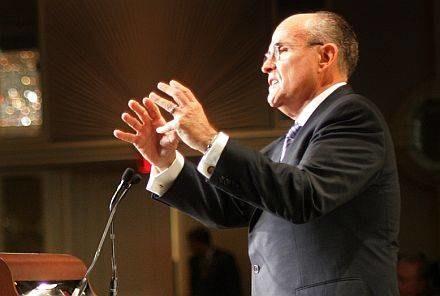 Na zdjęciu Rudy Giuliani /AFP