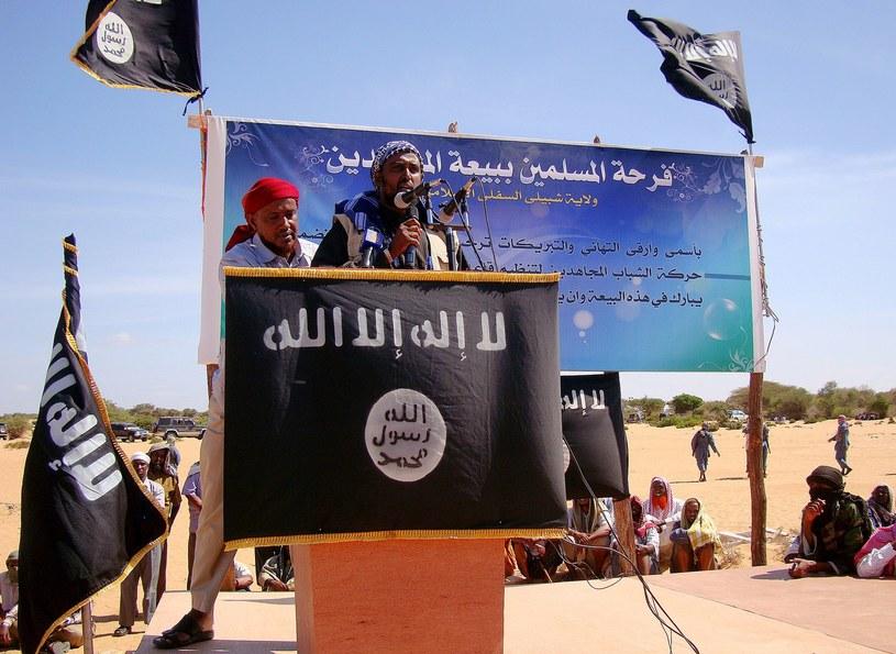 Na zdjęciu rzecznik al-Shabab /AFP