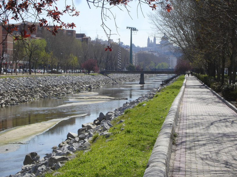 Na zdjęciu: Rzeki Manzanares w Madrycie /Album Online /East News