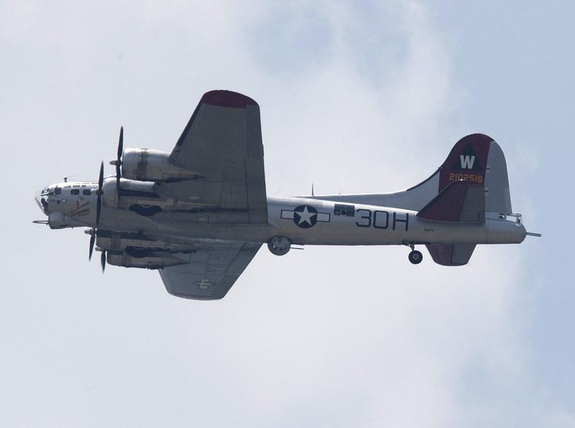 Na zdjęciu samolot B-17 Flying Fortress /ANDREW CABALLERO-REYNOLDS/AFP /AFP