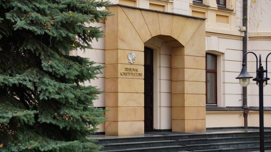 Na zdjęciu siedziba Trybunału Konstytucyjnego /Michał Dukaczewski /Archiwum RMF FM