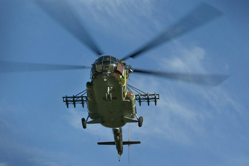 Na zdjęciu: Śmigłowiec Mi-8 /HENNIE KEERIS /AFP