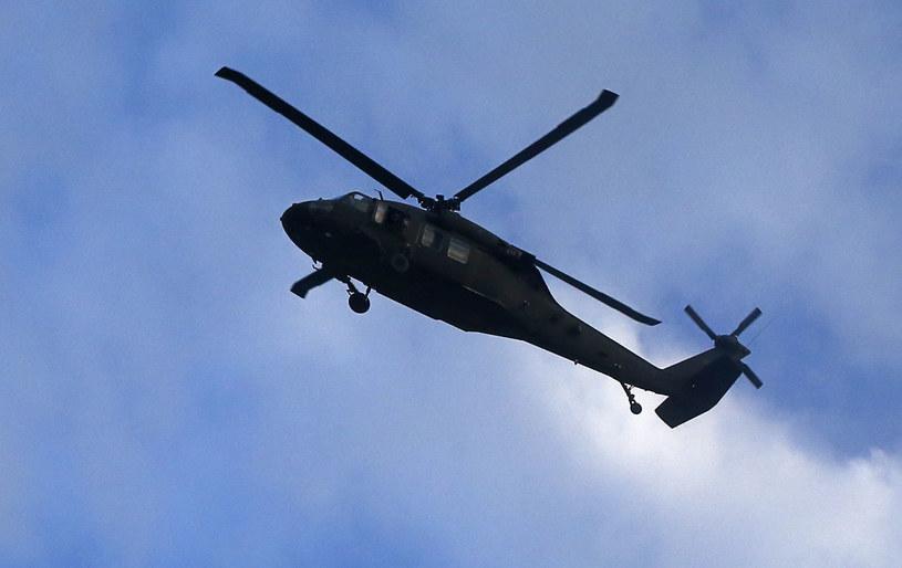 Na zdjęciu: Śmigłowiec UH-60 Black Hawk /ALEXANDER KLEIN /AFP