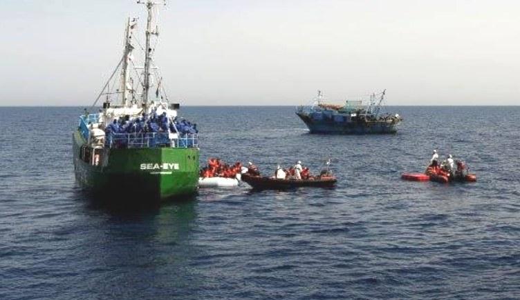 """Na zdjęciu statek """"Sea-Eye"""" /sea-eye.org /facebook.com"""