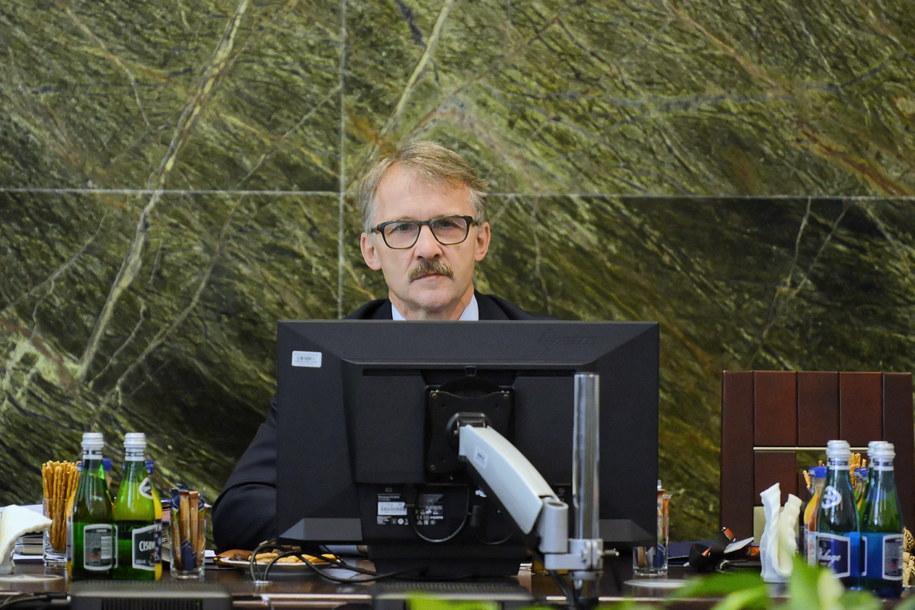 Na zdjęciu szef KRS Leszek Mazur / Jakub Kamiński    /PAP